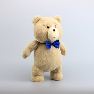 """Image 3 - 18"""" 45CM Teddy Bear TED Plush Toys with Blue Tie Pirate Teddy Soft Stuffed Dolls Toy Children Gifts"""