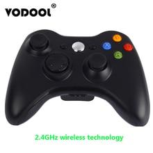 VODOOL для Xbox 360 2,4 ГГц беспроводной геймпад игровой контроллер беспроводной джойстик пульт дистанционного управления игровой коврик для Microsoft Xbox 360