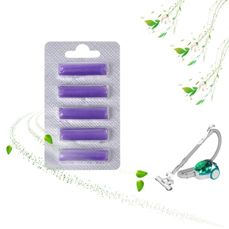 5Pcs Vacuum Cleaner Hoover Bags Air Freshener Perfume Scented Fragrance Sticks