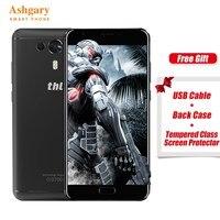 Продаются со скидкой! THL Knight 1 5,5 дюймовый HD экран 4G смартфоны MTK6750T Восьмиядерный Android 7,0 3 ГБ ОЗУ 32 Гб ПЗУ 3100 мАч в наличии телефон