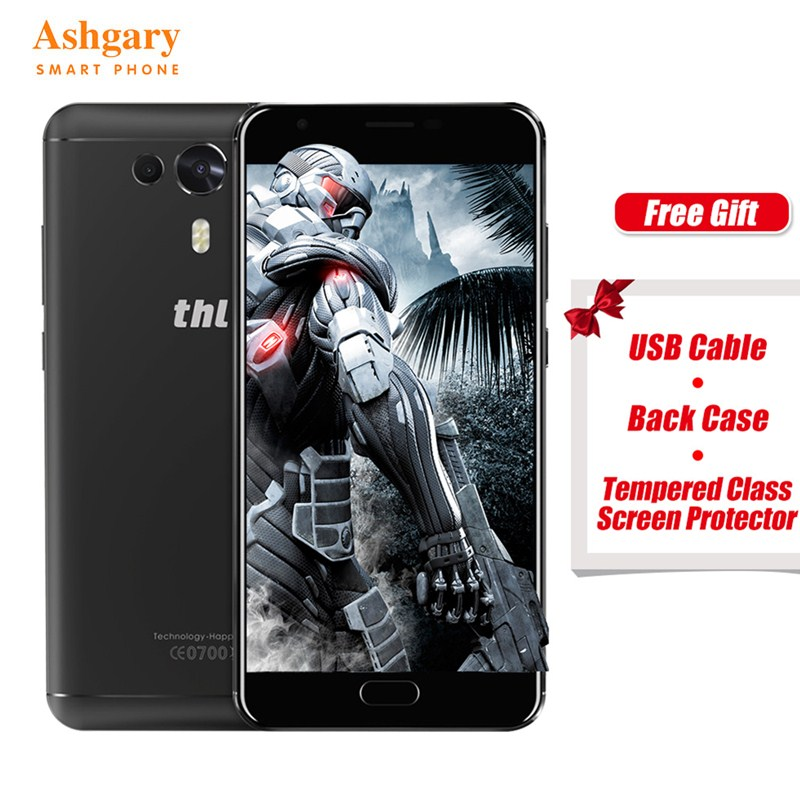 On Sale! THL Knight 1 5.5 Inch HD Screen 4G Smartphones MTK6750T Octa core Android 7.0 3GB RAM 32GB ROM 3100mAh In Stock Phone