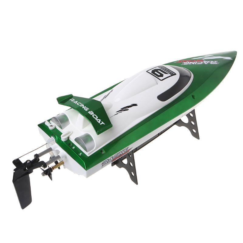 De alta velocidad RC Racing barco FT009 2,4G 4CH Radio Control barcos con rectificar la función de enfriamiento de agua y auto  corregir juguete-in Barcos RC from Juguetes y pasatiempos    3