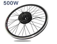 500W36V/48V Electric bicycle front wheel motor modified mountain bike electric bicycle motor e bike engine