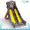 Надувные Biggors Коммерческая ПВХ Змея Надувной Горкой Открытый Большой Кобра Слайды Двойная Линия