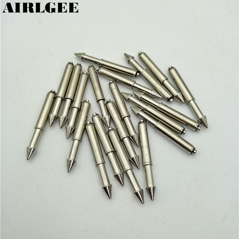 20 Pcs 44mm x 5.2mm Spherical Radius Tip Guide Spring Probe Pins GP-2 Free shipping 100 x spring test probes testing pins 1mm point tip 33 35mm long p100 e2