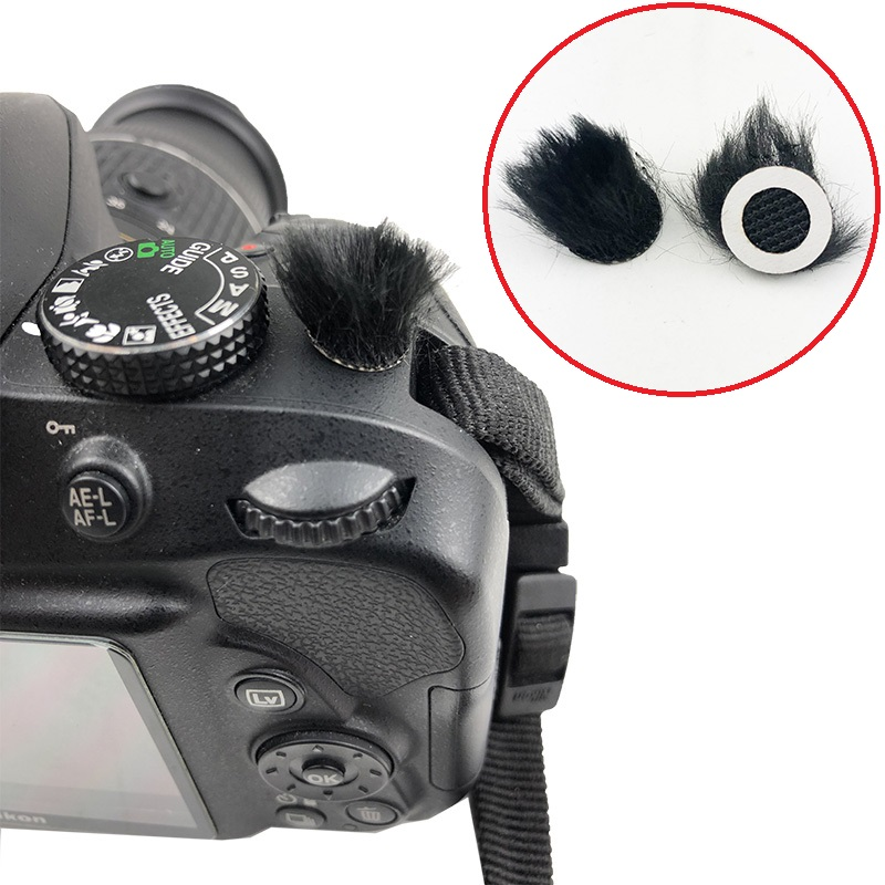 6Pcs Wind Muffler For Canon G7x Mark II Micromuff For Sony RX100 III RX100 IV RX100M5 Microphone Cover For Canon G7X MARK2