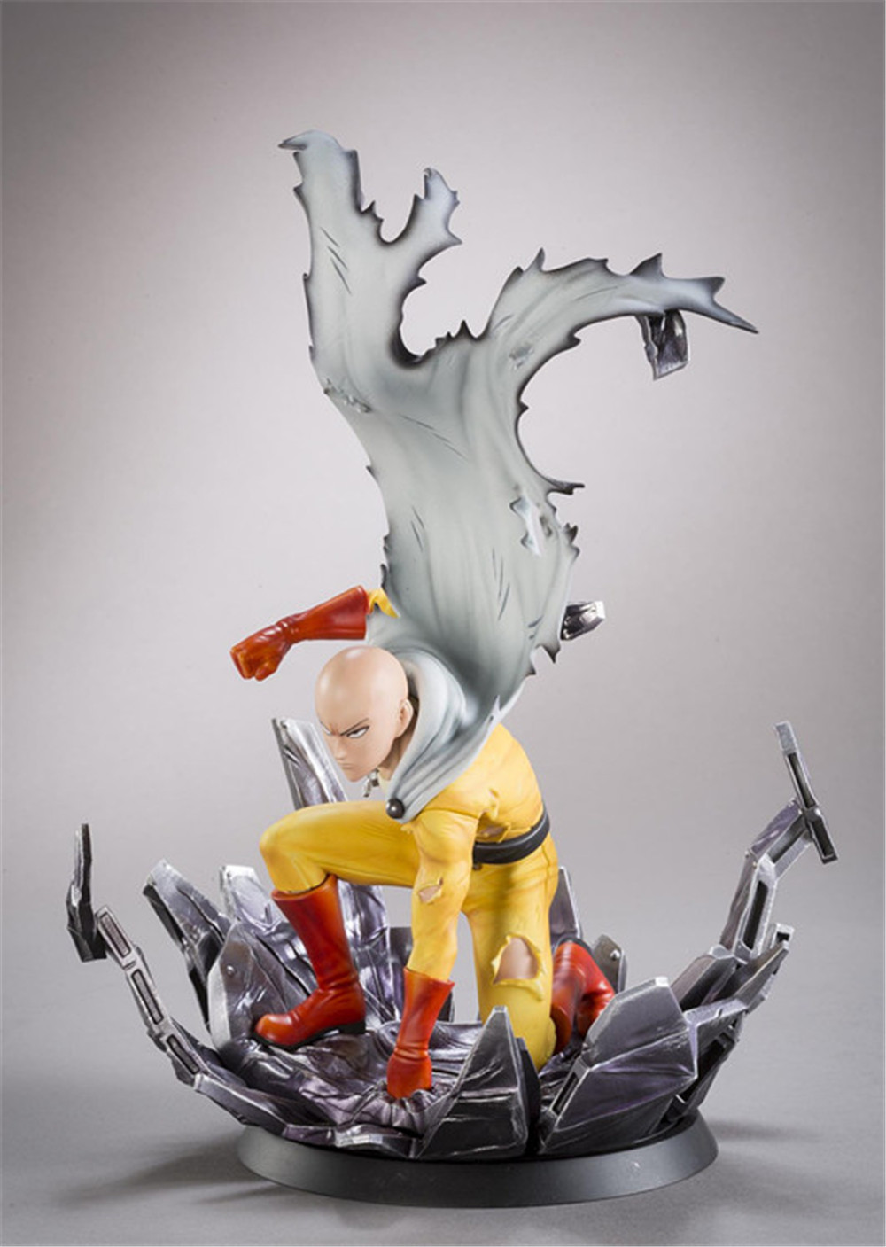 Anime One punch man Saitama Action Figure toys Collectible Model PVC Kid Toys Christmas Gift for Anime Lovers 24cm N088 the flash man aciton figure toys flash man action figures collectible pvc model toy gift for children