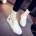 Summer & autumn Women's canvas shoes pedal shoes lazy flat shoes cotton-made Ventilation casual shoes tide students