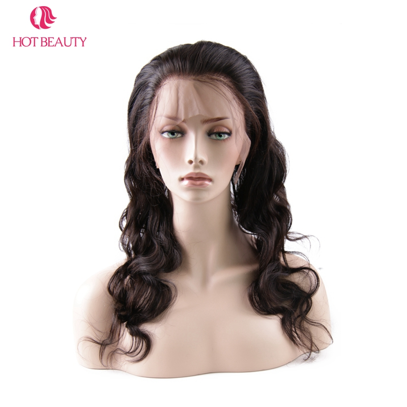 Hot Beauty Hair Brazilian Remy Hair test hullám 360 csipke - Emberi haj (fekete) - Fénykép 3