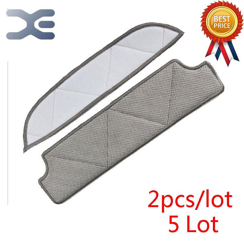 цена на 5 Pcs High Quality Ecovacs WRN60 / TBW61 / W710 Robot Accessories Wipes Cloth Vacuum Cleaner Parts