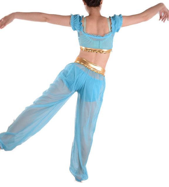 image  sc 1 st  Aliexpress & Online Shop Kids Princess Jasmine Costumes Aladdin Genie Outfit ...