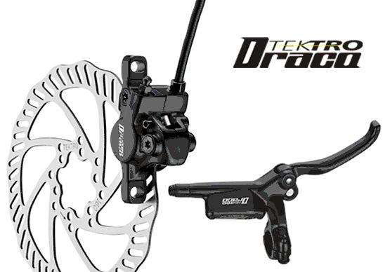 Original Tektro Darco M350 hydraulic disc brake groupset mtb 160 disc bicycle brake tektro 300 hydraulic disc brake