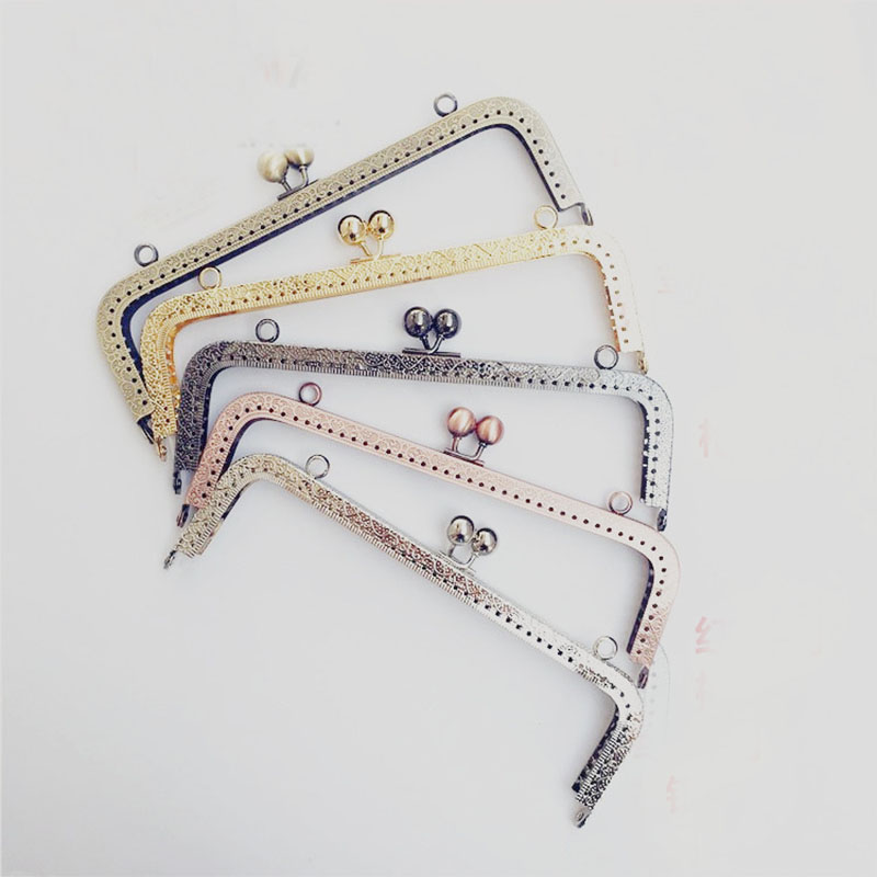 8 Inch Metal Clutch Purse Frames, Chose your colors ...