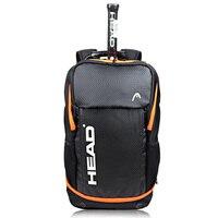 Новинка 2017 года 3 ракетки в голове Мюррей Теннис рюкзак Ракетки для бадминтона сумка спортивная сумка спортивный рюкзак