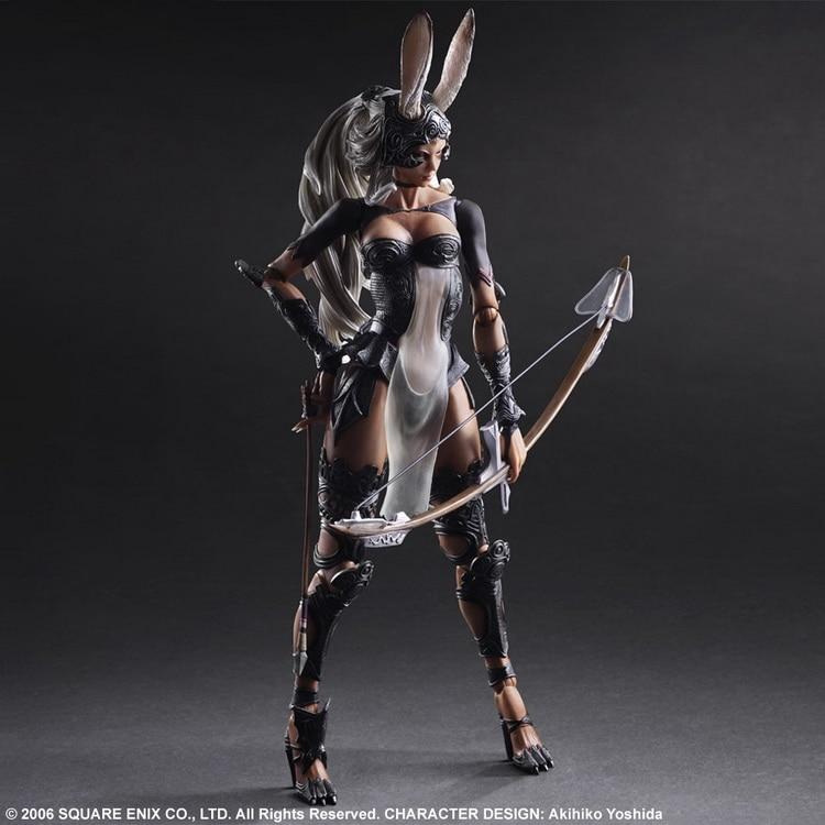 1/7 scale figure doll FINAL FANTASY XII Fran 10