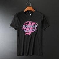 Very good quality Fashion Brand Tiger Pattern Print T shirt men 2019 Summer 100% cotton o neck Short Sleeve male T Shirt 190141