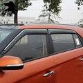 Для Hyundai Creta/ix25 окно visor ABS Маркизы Навесы крышка дождя Внешний тела продукты украшения аксессуары 2015-2016