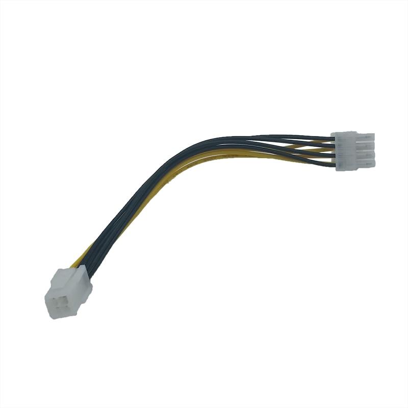 10 UNIDS / LOTE 20 cm ATX 4 Pin 4Pin a 8 pin 8Pin EPS 12V ATX - Cables de computadora y conectores - foto 3