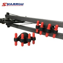 Sharrow 2 Pcs Bow Accessory Rubber Bow Stabilizer For Compound Bow and Recurve Bow Hunting Shooting diy bow fishing spincast reel slingshot for compound bow and recurve bow shooting tool fish hunting bow fishing