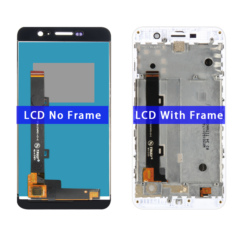 For Huawei Y6 Pro Lcd Display Touch Screen Digitizer +Frame Assembly Replacement