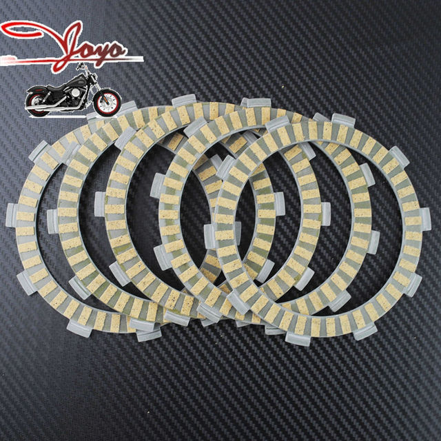 Motorcycle Paper-based Wet Clutch Friction Plates For ATV ATC250ES Big Red ATC250SX TRX250 Fourtrax & Motorcycle Paper based Wet Clutch Friction Plates For ATV ATC250ES ...