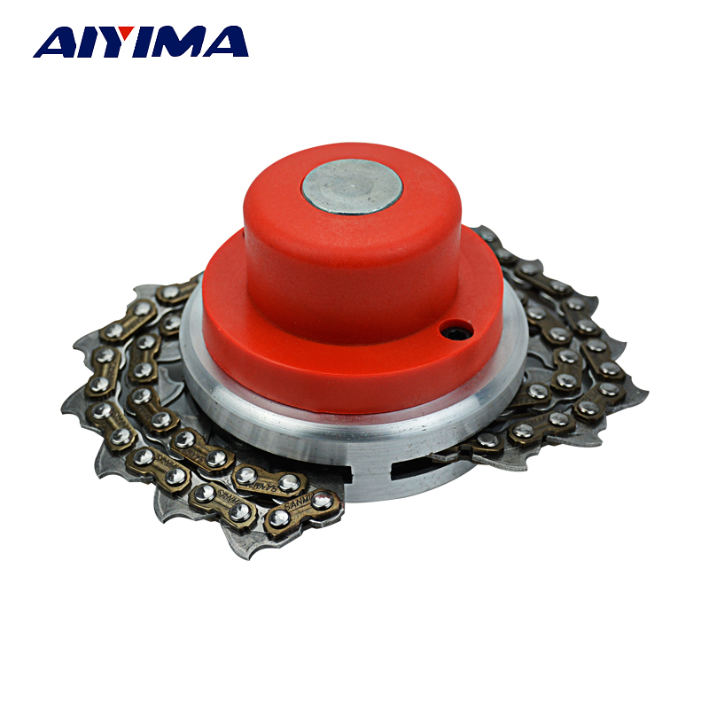 Trimmer Head Coil 65Mn Chain Brushcutter Garden Grass Parts Trimmer For All Mower