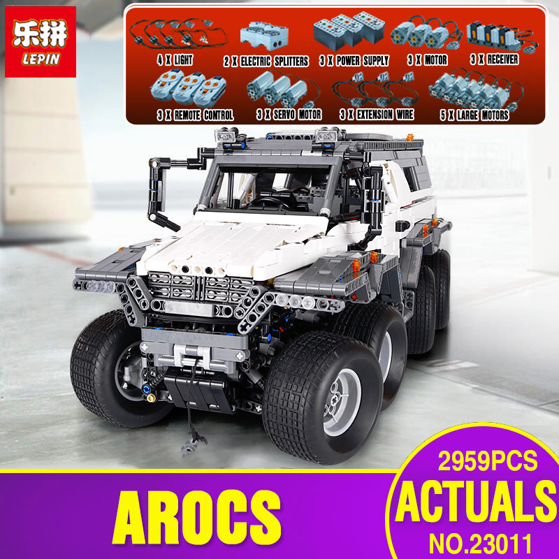 DHL LEPIN 23011 Technic Series Off-road vehicle Model Educational Toys Building Kits Block Bricks Compatible With legoing 5360 2816 pcs lepin 23011 technic series off road vehicle model moc assembling building kits block bricks compatible 5360 toy