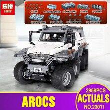 DHL educativos 23011 técnica serie vehículo Off-road modelo educativo Juguetes Kits de construcción de ladrillos Compatible con legoing 5360