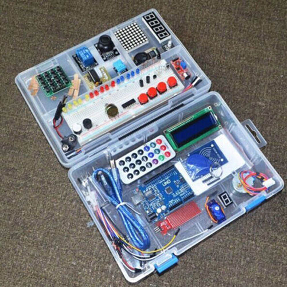 40pcs/Set RFID Learning Starter Kit for Arduino UNO R3 Upgraded Version Learning Suite--M25 kt001 arduino uno r3 starter kit