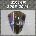 Motorcycle Part Windshield/Windscreen - iridium Magic color For Kawasaki ZX14R 2006 20011 06 11