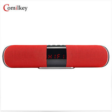 Comilkey K-8 Bluetooth Wireless Speaker Outdoor Mini Column Box Loudspeaker Bass Portable Speaker Design for Xiaomi TF AUX USB