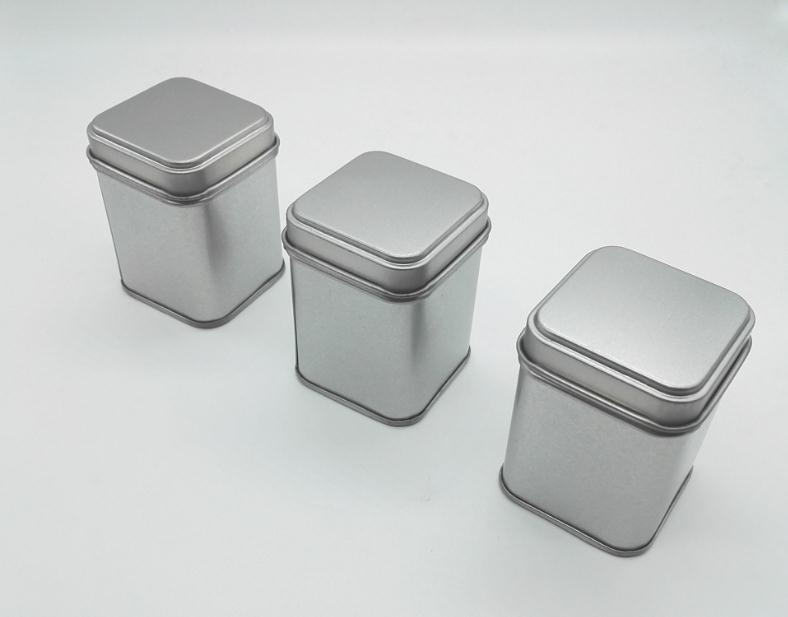 50g Tin Metal Cans Storage Bottles Jars Metal Cans Tea Caddy Mini Candy small sealed can ...