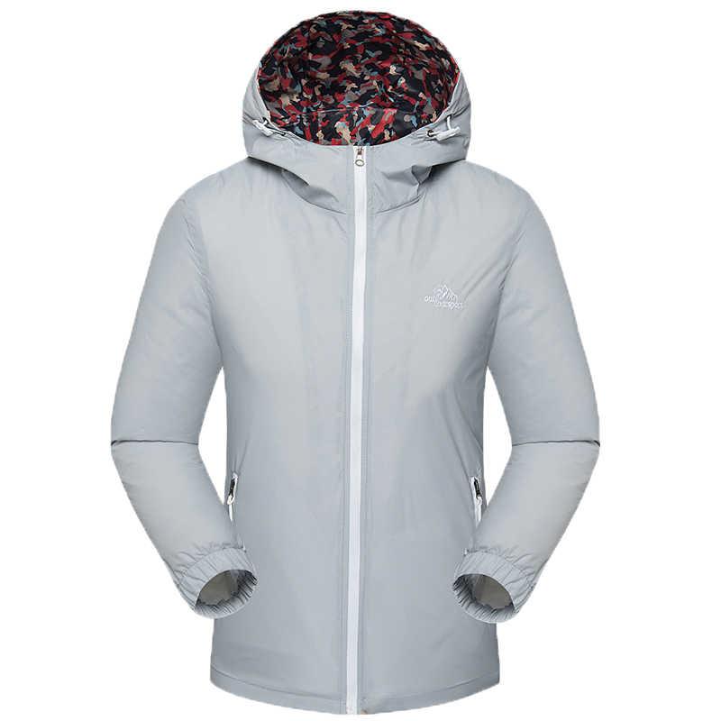 夏男性女性ジャケットコート女性屋外ウインドブレーカー女性の春秋薄型ソフトシェルジャケット jaqueta 防水防風