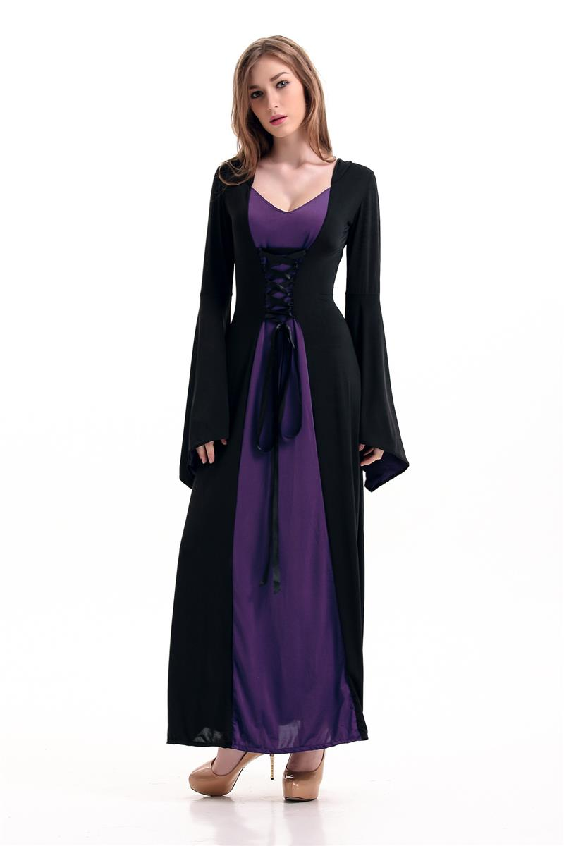 Aliexpress.com : Buy Victorian Halloween Costumes Hoodie Witch ...