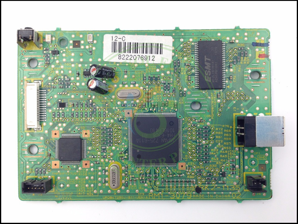 RM1-3126 RM1-3078 Formatter Board main logic board PCA ASSY MainBoard mother board for Canon LBP2900 LBP3000 LBP 2900 2900B 3000 formatter pca assy formatter board logic main board mainboard mother board for hp m775 m775dn m775f m775z m775z ce396 60001