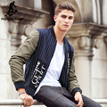 Pioneer camp 2017 nova primavera homens jaqueta marca clothing moda listrada casaco masculino top quality fit casual masculino outerwear 611308
