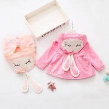 Baby Girl's Cartoon Outwear