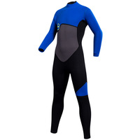 Kids Wetsuit Neoprene 2mm Thick Long Sleeve One Piece UV Protection Sun Protection Sunsuit Wetsuit for Girls Boys