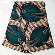 Африканские Восковые принты ткань высокого качества Анкара настоящая
