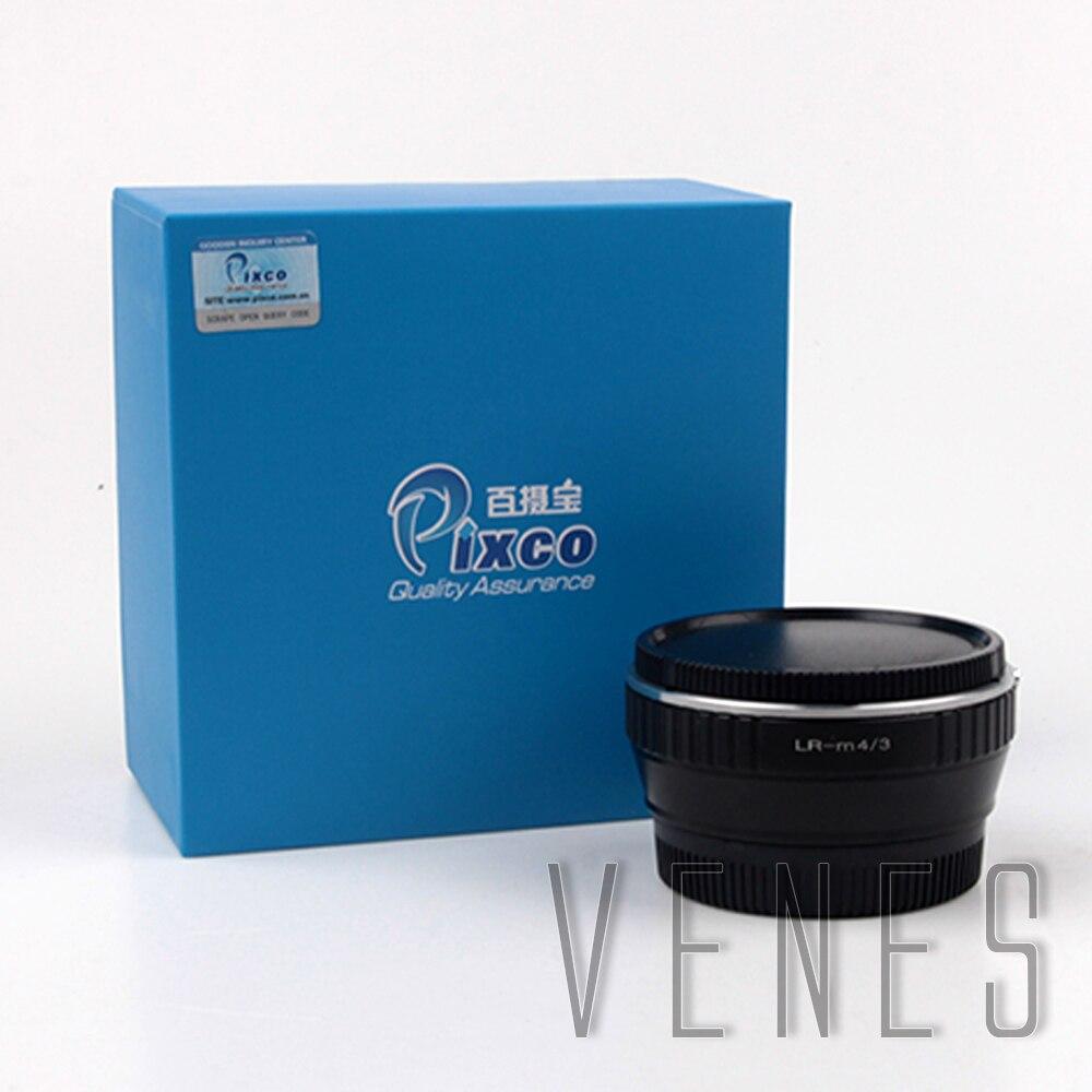 VENES L/R objectif à M4/3, réducteur de vitesse Focal Booster, bague d'adaptation pour objectif Leica R, pour Micro quatre tiers 4/3 caméra, pour Panasonic