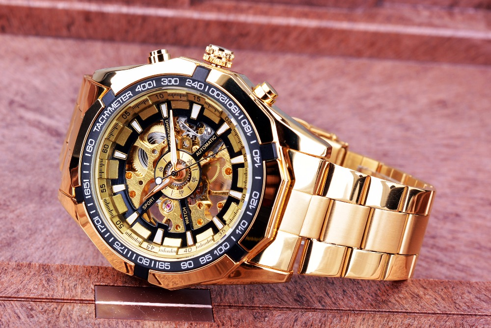 HTB1RjfzOhjaK1RjSZFAq6zdLFXat Forsining 2019 Stainless Steel Waterproof Mens Skeleton Watches Top Brand Luxury Transparent Mechanical Sport Male Wrist Watches