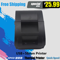 JP-5890K 58mm Thermal Printer for Supermarket Thermal Receipt Printer for POS System Thermal Billing Printer for Kitchen