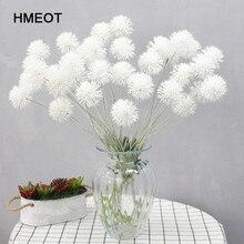 74cm High Quality Plastic Dandelion Pompom Artificial Flower Wedding Valentine's Day Christmas Home Decoration Flower Accessorie