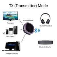 1Set Multifunctional Wireless Bluetooth Adapter Aptx HD Low Latency 3.5MM Digital Audio Transmitter Receiver for TV PC Headphone