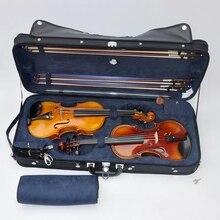 Чехол для скрипки футляр для Альта двойной футляр для скрипки с 2 Скрипки рюкзаки сжатые