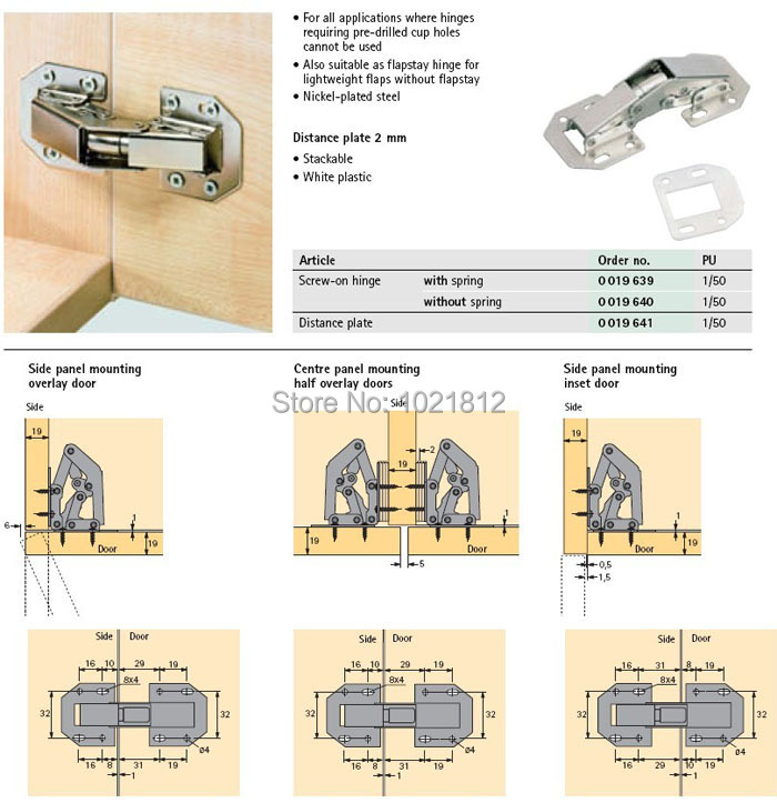 cabinet hinges Picture - More Detailed Picture about 1Pair 90 ...