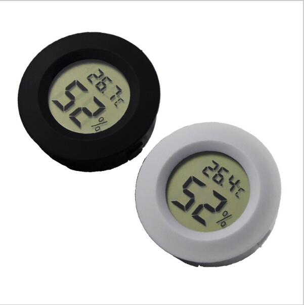 1pcs /lot freezer reptile aquarium breeding kennel embedded electronic digital thermometer temperature hygrometer