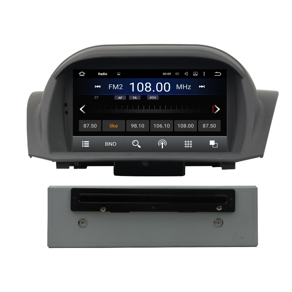 quad core android 5 1 car radio dvd player for ford fiesta. Black Bedroom Furniture Sets. Home Design Ideas