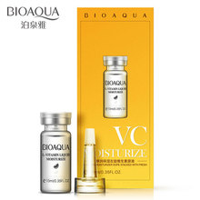 BIOAQUA Anti Aging Hyaluronic Acid Serum Snail vitamin-C Essence Whitening Lightening Facial Serum Face Cosmetics phyto c bionic serum