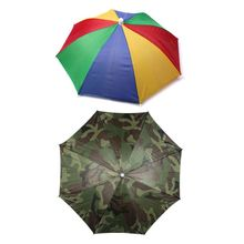 Umbrella Fishing Cap Sports Hat Outdoor Hiking Camping Headw